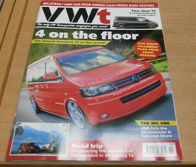 VWt magazine #77 Feb 2019 lowest 4motion T5 in the world + event planner & more