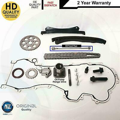 FOR VAUXHALL COMBO C 1.3 CDTi DIESEL TIMING CHAIN KIT SPROCKETS GEARS TENSIONER