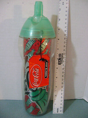 Coca Cola 26 oz Aluminum Thermo-Insulated Sports Bottle + Tag