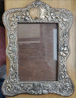 Solid Silver photo frame 1910