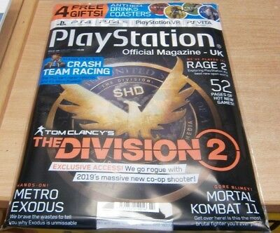 Playstation Official magazine UK #158 Feb 2019: Tom Clancy's The Division 2