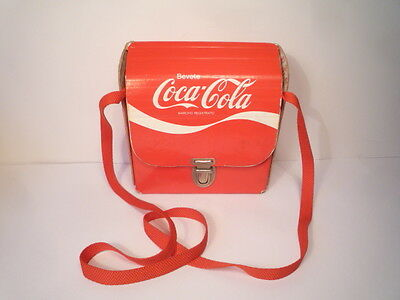 MARVELOUS  VINTAGE  COCA  COLA  BAG  SPECIAL  1970s