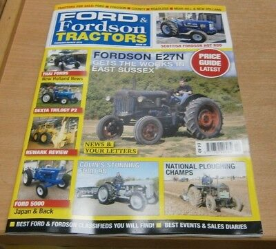 Ford & Fordson Tractors magazine #89 Feb/Mar '19 Fordson E27N + Ploughing Champs