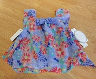 Koala Baby Girl 9m 9 Months NWT New With Tags Purple Shirt Top