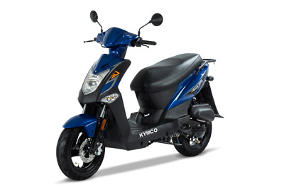 KYMCO Agility 50 4T E4 50km/h Version schwarz blau weiss inklusive Anlieferung