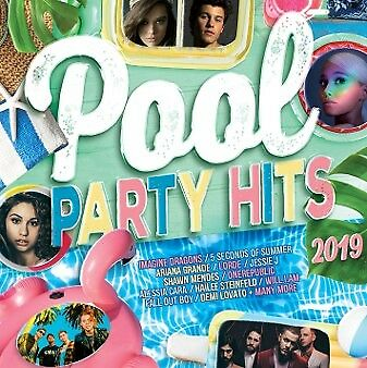 Various Artists - Pool Party Hits 2019 (CD SET) (CD DOUBLE SLIMLINE CASE)