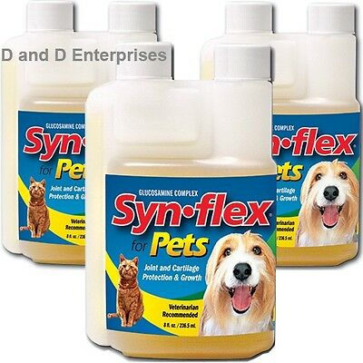 3 Pk Synflex For Pets Beef Flavor Liquid Glucosamine. Syn-Flex For Joint Pain!!
