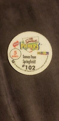 The Simpson's Pickers Foil 102 Silver