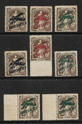 URUGUAY 1921-22 Airpost Mint Never Hinged Issues Selection (Dec 229)