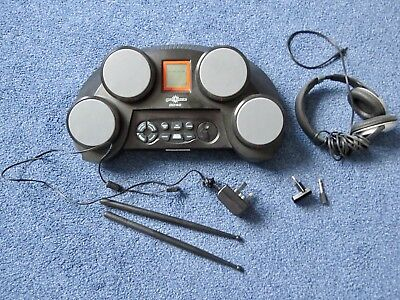 Gear 4 music DD40 electronic drum pad kit inc head phones and drumsticks