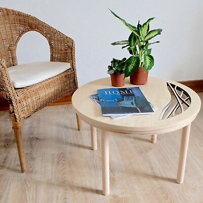 Birch Plywood Wooden Coffee Table Side Table BRAND NEW