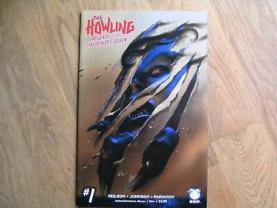 SGP The Howling Revenge Of The Werewolf Queen graphic comic #1 2017 NEW! Neilson
