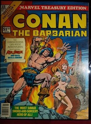 CONAN THE BARBARIAN Marvel Treasury Edition #15 (1977) Marvel Comics Barry Smith