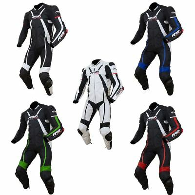 ARMR Moto Harada R 1 Piece Track Leather Racing Motorcycle Suit