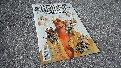 Hellboy: Winter Special #0 Fabio Moon Variant (2018) Dark Horse