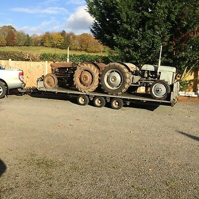Vintage Tractor Ferguson Fordson David Brown Nuffield Transport