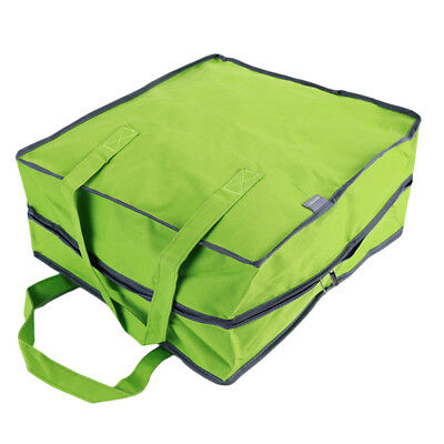 Portable Green Travel Clothes Storage Bag Organizer Bags Shoe Sorting Pouch LH