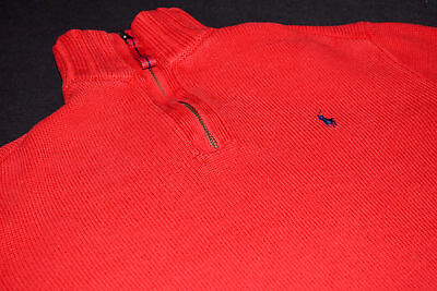 Pullover Knit Rot Jacke Ralph Sweater Polo S Lauren Red Jumper Jacket Strick xCeWrdBo