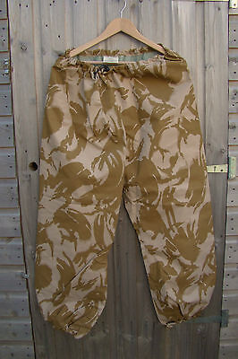 New - British Army Issued Goretex MVP Trousers - in Desert Camo Pattern