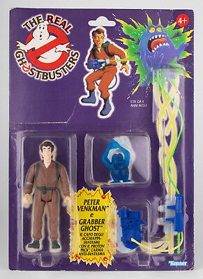 The Real Ghostbusters Kenner PETER VENKMAN Euro (Italy) MOC
