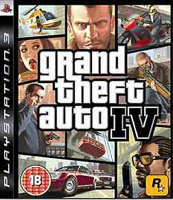Grand Theft Auto IV (PS3) - USED *VGC*