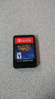 Monster Hunter Generations Ultimate Nintendo Switch Cartridge Only. Tested!