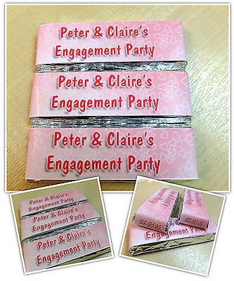 Wrappers or Pre-made N1 Personalised KitKat Chocolate Wrappers Party Favours