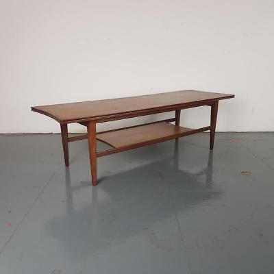 1960s Teak Coffee Table By Richard Hornby for Heal Midcentury #2530