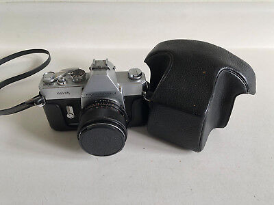 Mamiya Sekor 1000 DTL with 35mm and 55mm lenses