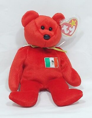 1999 TY Beanie Baby Osito Bear - NEW with Tag