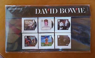 GB QEII Comm. Stamps. 2017 (SG n/a) David Bowie. MINT ex pres. pack