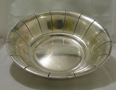 AMERICAN STERLING SILVER BOWL by INTERNATIONAL SILVER CO.