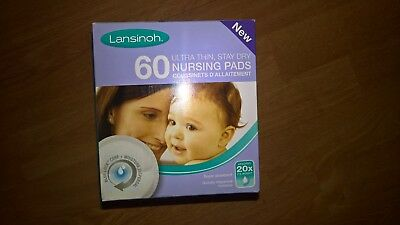Lansinoh Disposable Nursing Breast Pads x60