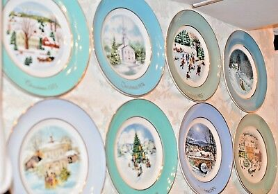 Christmas Plates,wedgwood,1973,1974,1975,1976,1977,1978,1979,avon, Sold Seperate