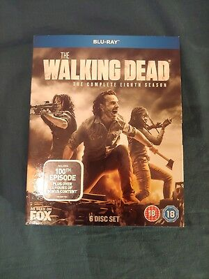 The Walking Dead Season 8 (Blu-ray)