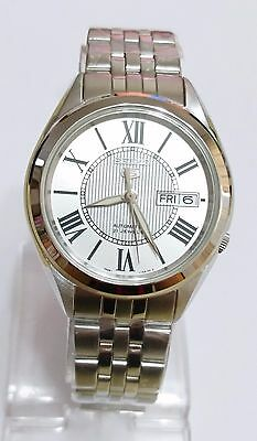 SEIKO 5 SNKL29K1 Stainless Steel Band Automatic Men's Silver Watch 100% New