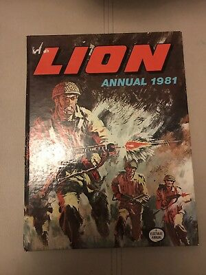 Lion annual, 1981, good condition