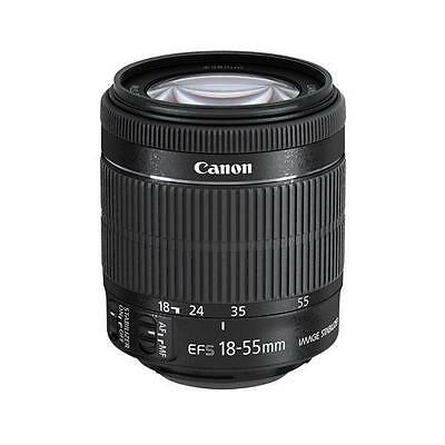 New Genuine Canon EF-S 18-55mm f/3.5-5.6 IS STM Zoom Lens white box