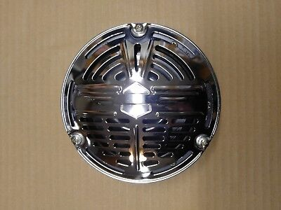HF 65-12V Harley Davidson Springer 12V Chrome Motorcycle Horn NEW