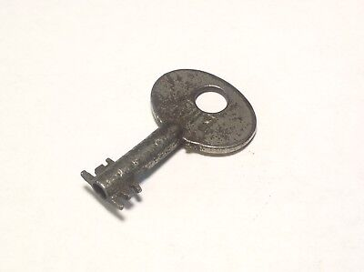 Corbin brand double sided Barrel key, P7, antique, vintage, locksmith