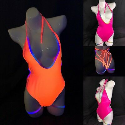 S/M 435 Exotic Dancer Stripper Clothes Stripperwear Outfit Romper One Piece