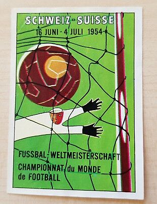 Panini Mexico 70 Suisse 1954 – Poster  Manifesto Badge - World Cup 1970 - Used