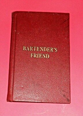 """"""" Rare """" Vintage – Bartenders Friend – Mixed Drink Recipes – 1946"""