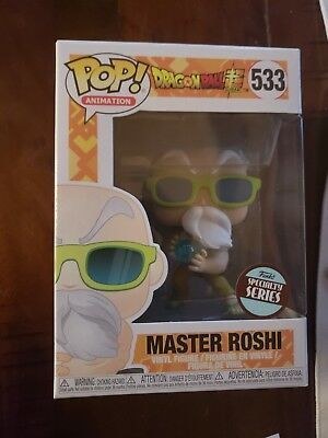 Pop! Animation: Dragon Ball Super Master Roshi specialty series!! In stock