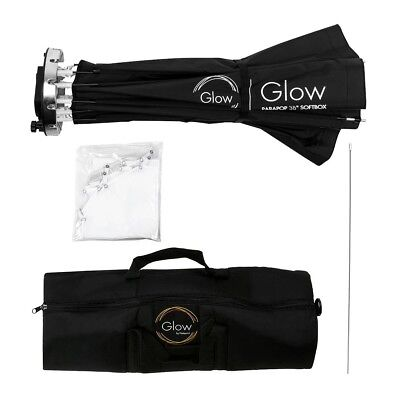 """Glow ParaPop 38"""" Portable Softbox With Bowens Mount Adapter"""
