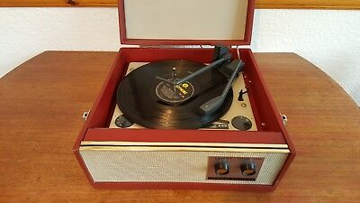 Alba Vintage Record Player Working Excellent.