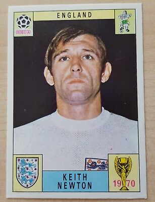 Panini Mexico 70 Newton - World Cup 1970 - Mint - Unused - Green Back