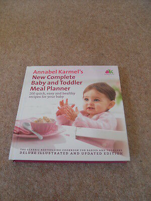 Annabel Karmel's New Complete Baby and Toddler Meal Planner Book