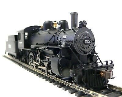 HO Scale Model Railroad Trains Steam Locomotive Wabash 2-6-0 DCC Sound Equipped