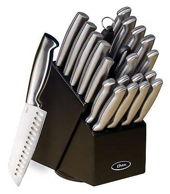 Stainless Steel Chef Knife Set Combo Cutlery Kitchen Cooking Professional 22pcs